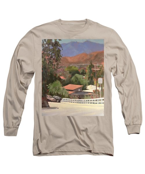 View From Moon Long Sleeve T-Shirt by Richard Willson