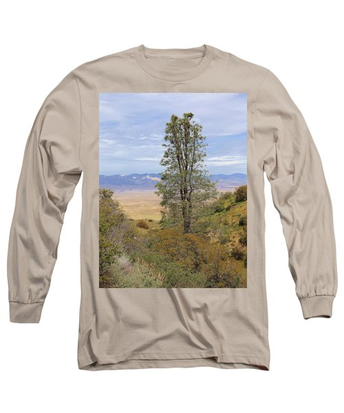 View From Pine Canyon Rd Long Sleeve T-Shirt