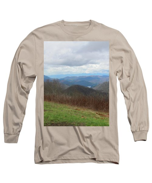 View From Silers Bald 2015c Long Sleeve T-Shirt