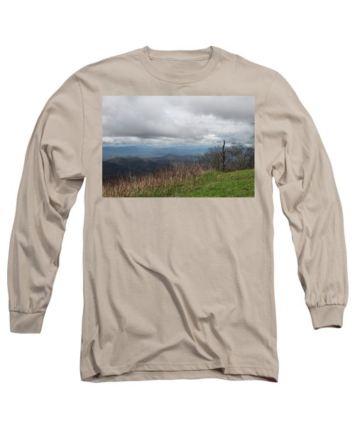 View From Silers Bald 2015e Long Sleeve T-Shirt