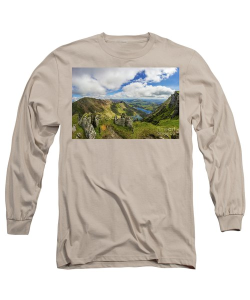 View From Snowdon Summit Long Sleeve T-Shirt
