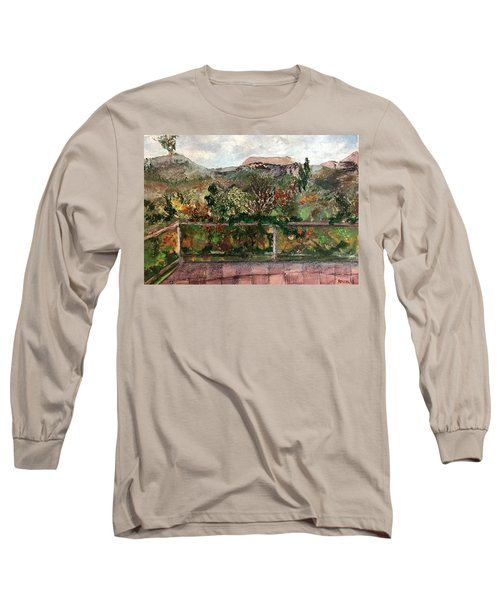 View From The Deck Long Sleeve T-Shirt