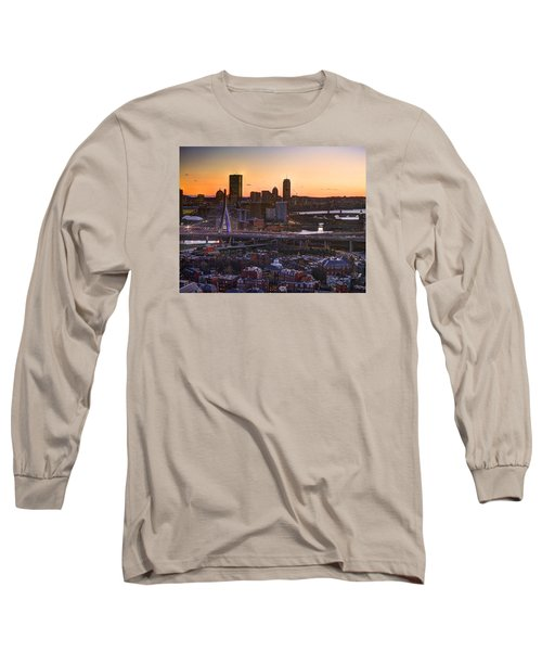View From The Monument 015 Long Sleeve T-Shirt