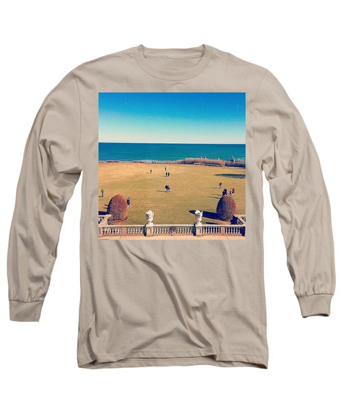 Looking Out From The Gilded Age Long Sleeve T-Shirt