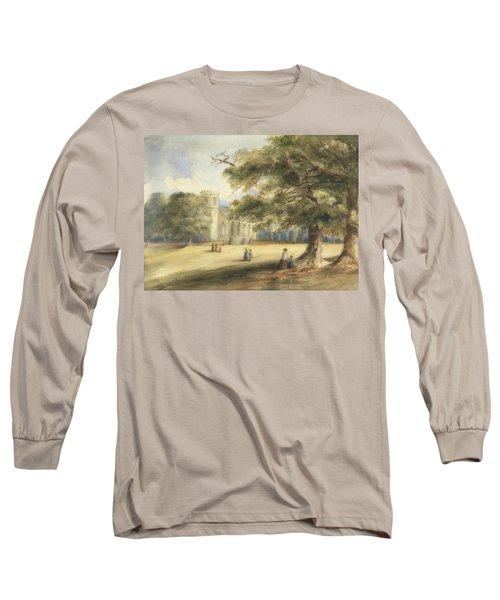 View Of A Churchyard, Southborough, Kent Long Sleeve T-Shirt