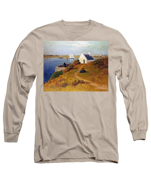 View Of Lorient In Brittany Long Sleeve T-Shirt