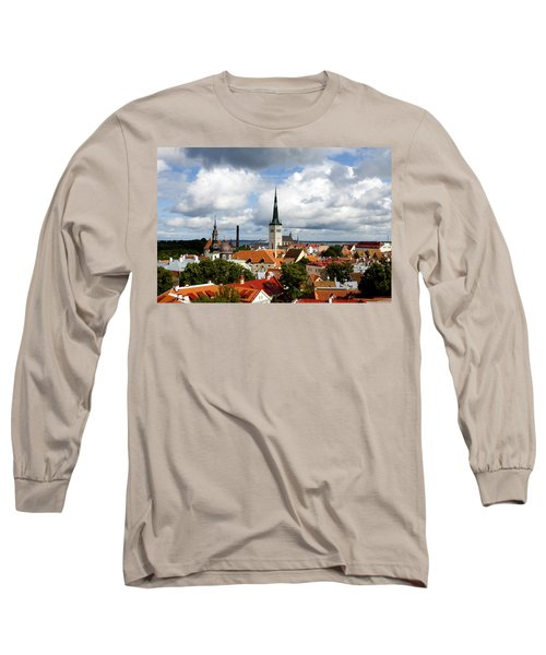 View Of St Olav's Church Long Sleeve T-Shirt