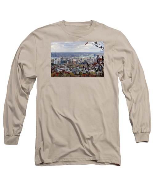 View Of The Jacques Cartier Bridge Long Sleeve T-Shirt