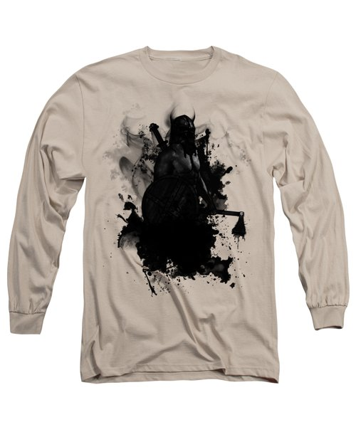 Viking Long Sleeve T-Shirt by Nicklas Gustafsson