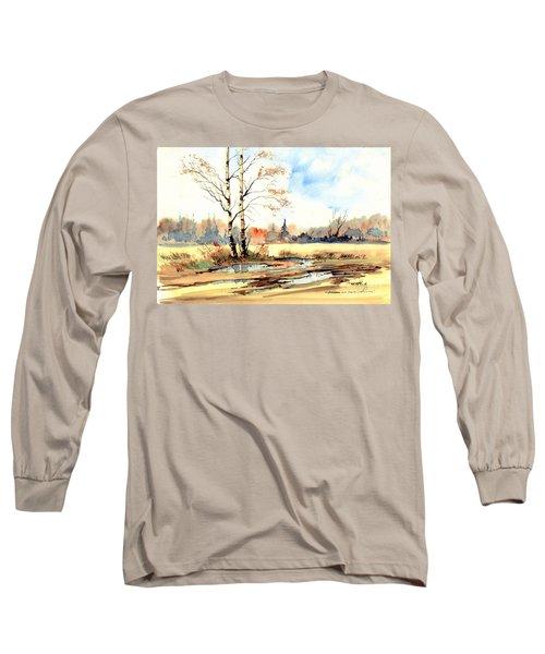Village Scene I Long Sleeve T-Shirt