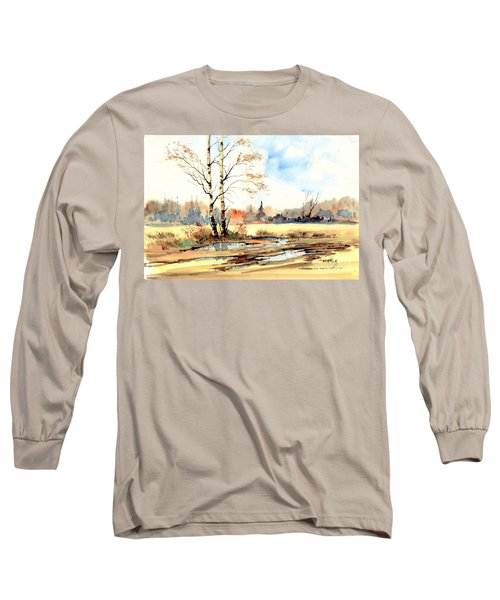 Village Scene I Long Sleeve T-Shirt