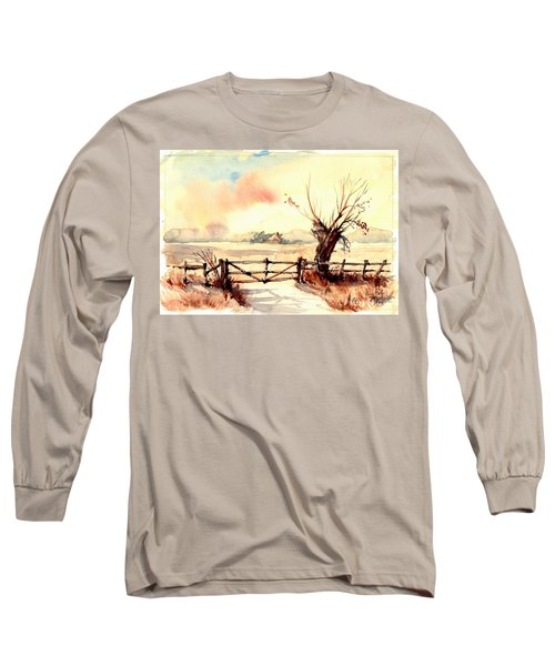 Village Scene IIi Long Sleeve T-Shirt