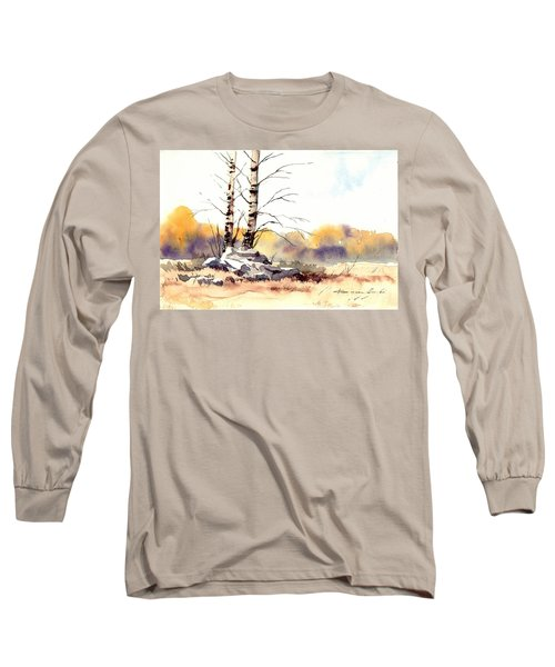 Village Scene V Long Sleeve T-Shirt