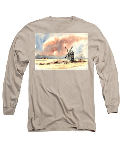 Village Scene Vi Long Sleeve T-Shirt