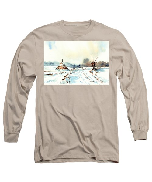 Village Scene Vii Long Sleeve T-Shirt