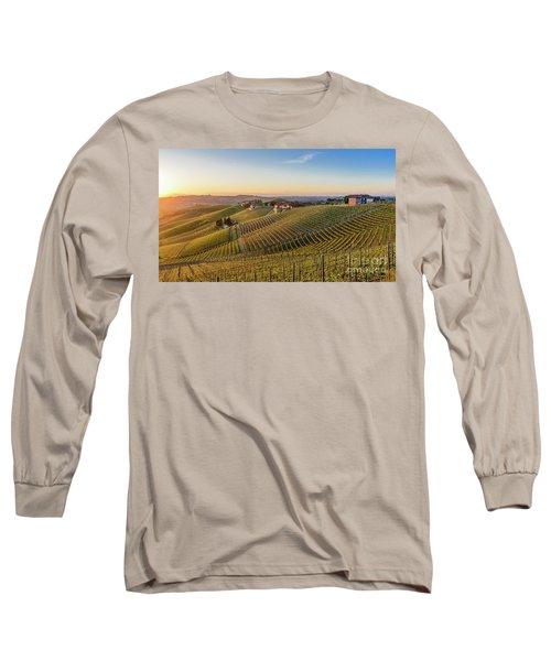 Vineyard At Barbaresco, Italy Long Sleeve T-Shirt