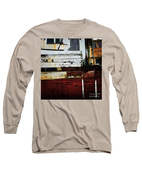 Vintage Astoria Ship Long Sleeve T-Shirt by Suzanne Lorenz