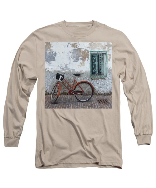 Vintage Series #3 Bike Long Sleeve T-Shirt