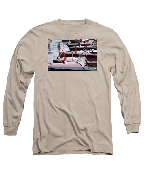 Vintage Boats Long Sleeve T-Shirt