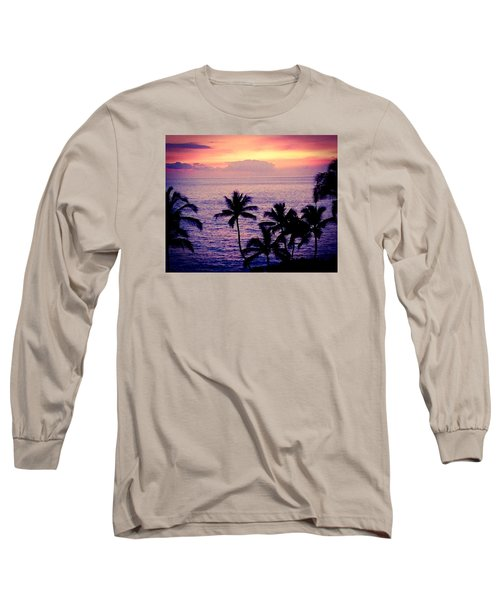 Vintage Hawaii Long Sleeve T-Shirt by Russell Keating