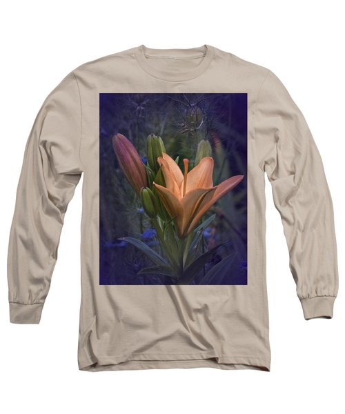Vintage Lily 2017 No. 2 Long Sleeve T-Shirt by Richard Cummings