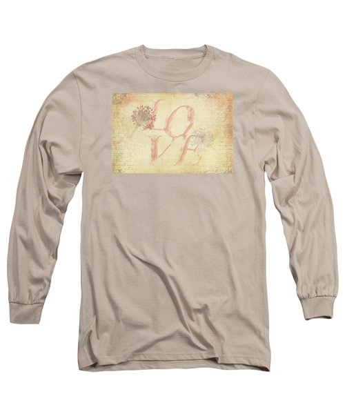 Vintage Love Long Sleeve T-Shirt by Caitlyn Grasso