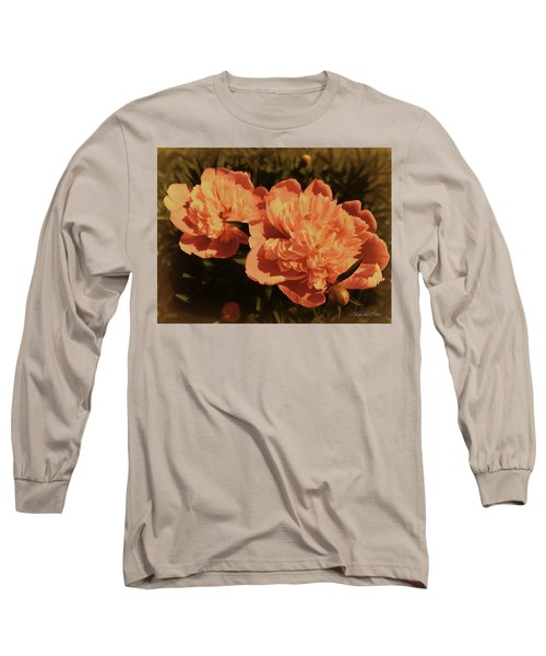 Vintage Peonies Long Sleeve T-Shirt