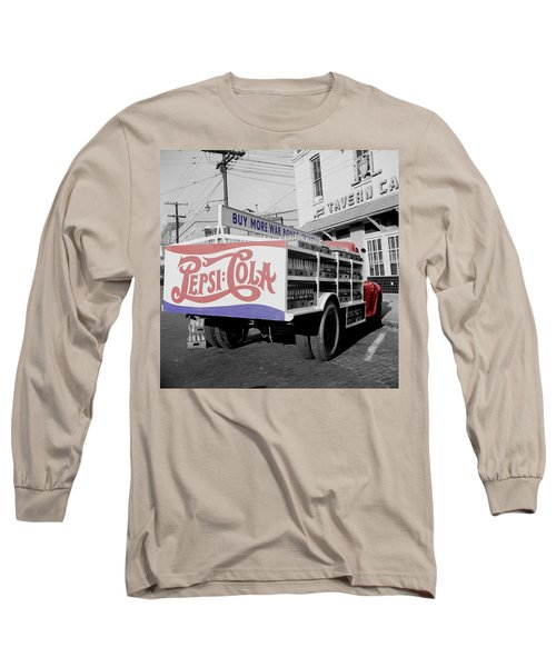 Vintage Pepsi Truck Long Sleeve T-Shirt