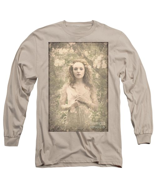 Vintage Portrait Long Sleeve T-Shirt