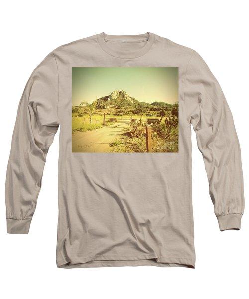 Vintage San Luis Obispo California Seven Sisters  Long Sleeve T-Shirt