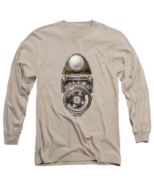 Vintage Sekonic Deluxe Light Meter Long Sleeve T-Shirt by YoPedro
