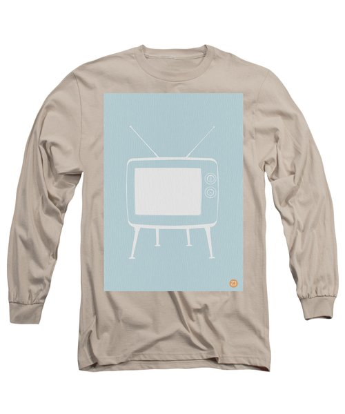 Vintage Tv Poster Long Sleeve T-Shirt