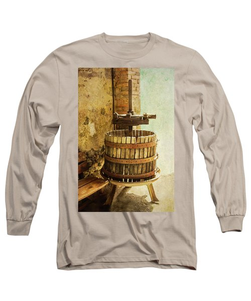 Vintage Wine Press Long Sleeve T-Shirt