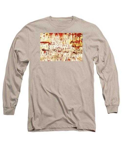 Violent Red Long Sleeve T-Shirt