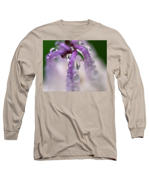 Long Sleeve T-Shirt featuring the photograph Violet Mist by Susan Capuano