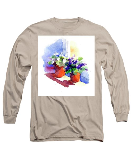 Violets Are Blue Long Sleeve T-Shirt