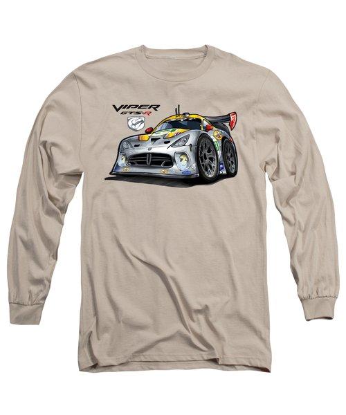 Viper Gts-r Car-toon Long Sleeve T-Shirt