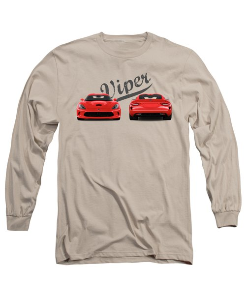 Viper Long Sleeve T-Shirt by Mark Rogan