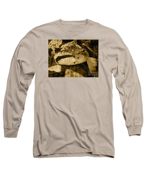 Viper's Glare Long Sleeve T-Shirt by KD Johnson