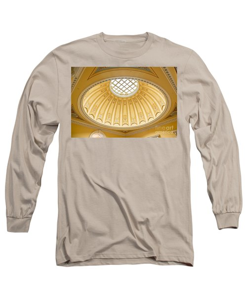 Virginia Capitol - Dome Profile Long Sleeve T-Shirt