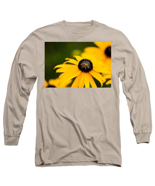 Visitor In The Garden Long Sleeve T-Shirt by Shelby  Young