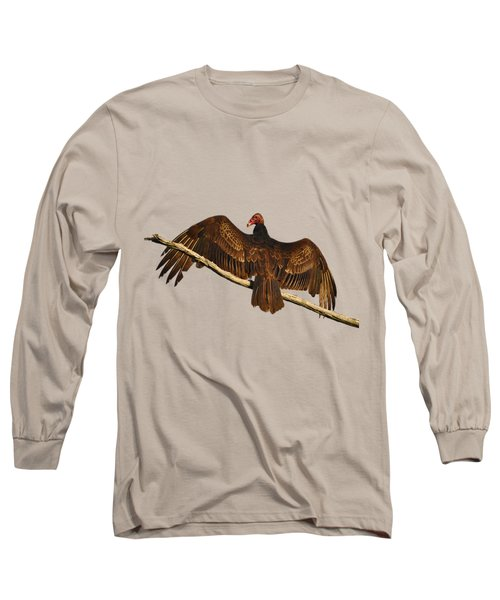 Vivid Vulture .png Long Sleeve T-Shirt by Al Powell Photography USA