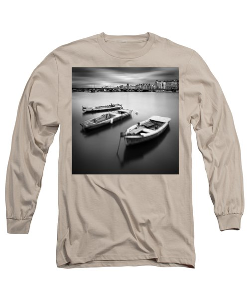 Vltava River During Autumn Time, Prague, Czech Republic Long Sleeve T-Shirt