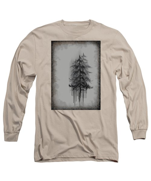 Long Sleeve T-Shirt featuring the painting Voices by Annette Berglund