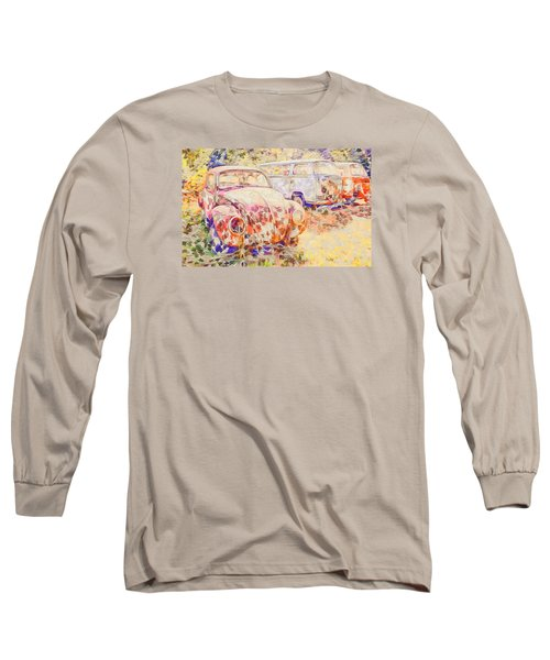 Vw Rest Home Long Sleeve T-Shirt by Ronda Broatch