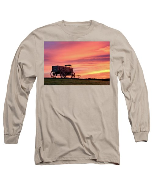 Wagon Afire Long Sleeve T-Shirt