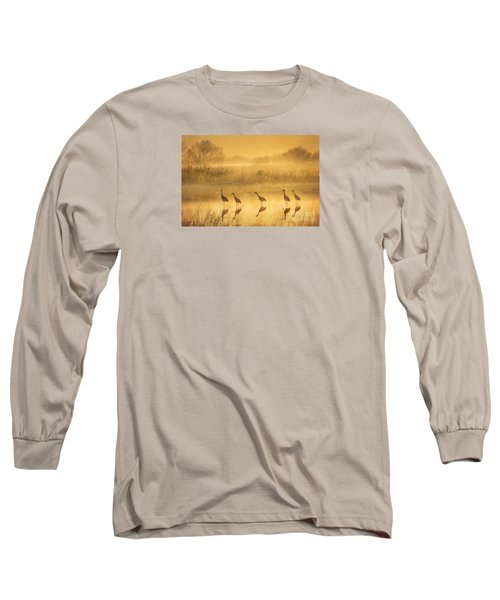 Waiting Long Sleeve T-Shirt by Alice Cahill