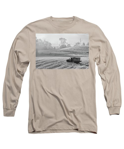 Waiting For A Load Long Sleeve T-Shirt by Nicki McManus