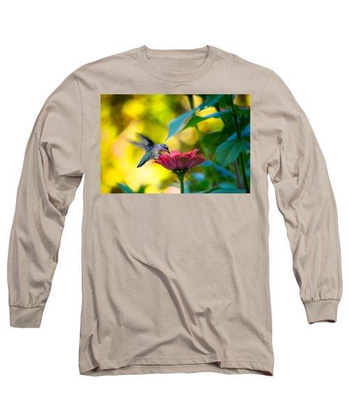 Waiting For Butterflies Long Sleeve T-Shirt by Craig Szymanski