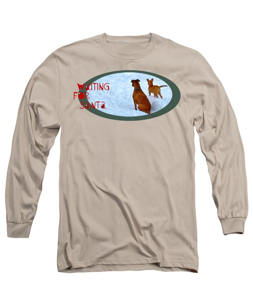 Waiting For Santa Transparent Long Sleeve T-Shirt